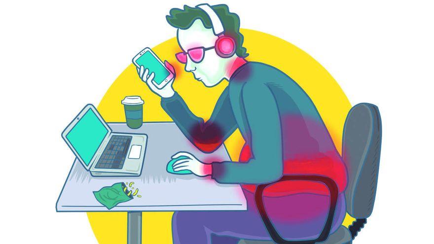 'Whatsappitis' o 'Cuello Smartphone', las nuevas enfermedades de la era digital