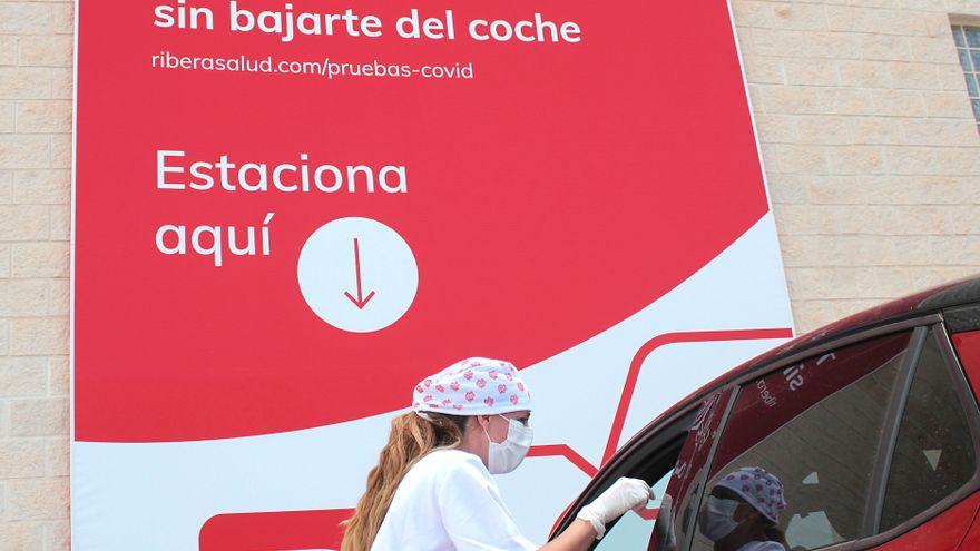 CovidAuto: PCR sin bajar del coche con resultado en menos de una hora