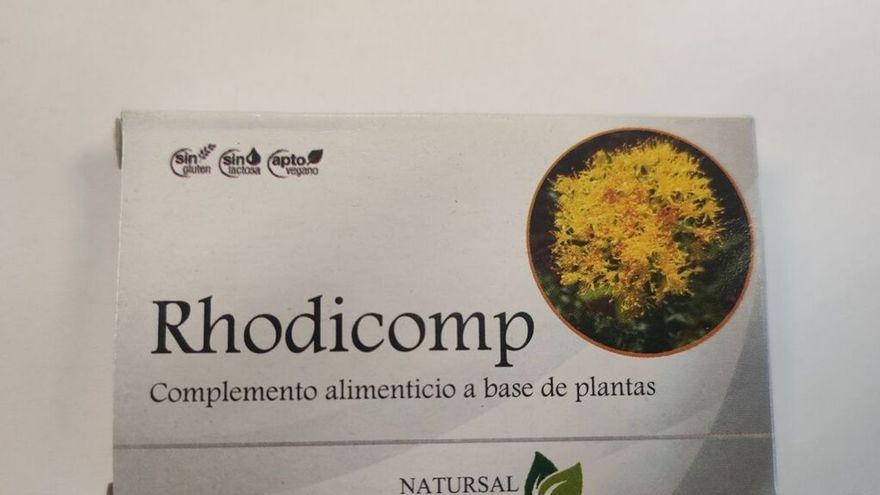 Sanidad prohíbe y retira la «viagra de herbolario» Rhodicomp